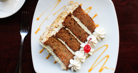 Towering Carrot Cake