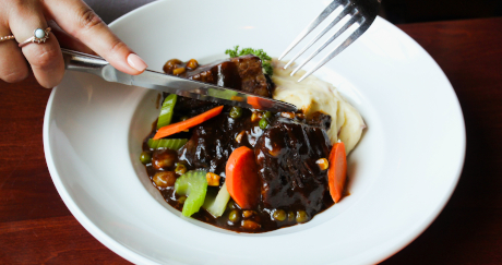 Bourbon-Maple-Glazed Pot Roast