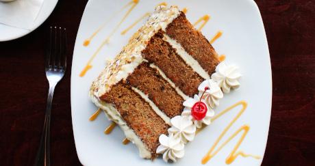 Towering Carrot Cake